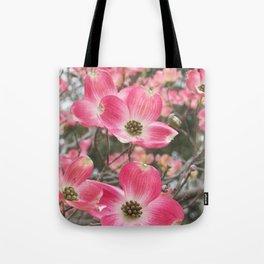 quixotic pink dogwood Tote Bag