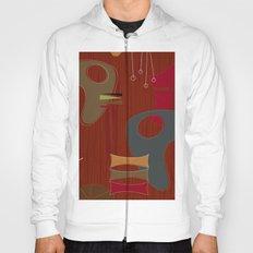 Mid Century Modern Art Print Hoody