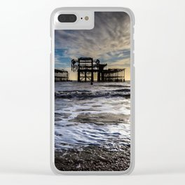 Brighton Seascape Clear iPhone Case
