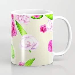 Paper and Pink Coffee Mug