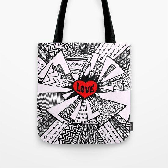 Power of Love... Tote Bag