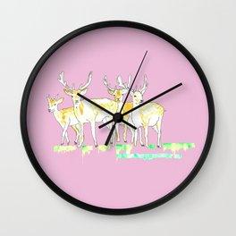 Deerz Wall Clock