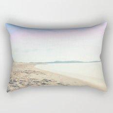 Sand, Sea and Sky - Relaxing Summertime Rectangular Pillow