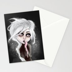 too dark to be sure Stationery Cards