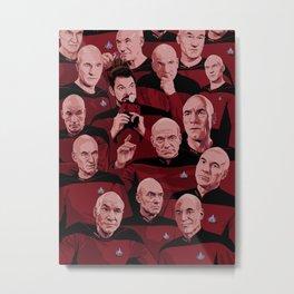 Picard Day Metal Print