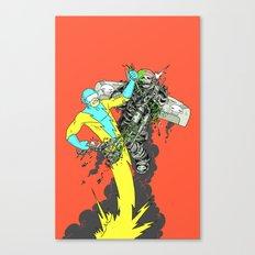 Deathwing's demise Canvas Print