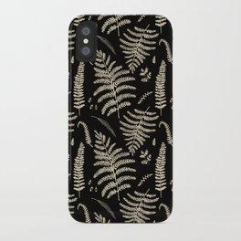 Fern Pattern 2 iPhone Case