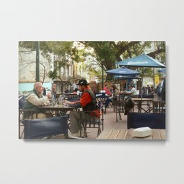 Hanging out in San Telmo, Buenos Aires Metal Print