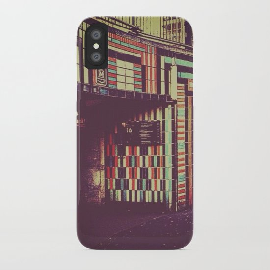 Subway iPhone Case
