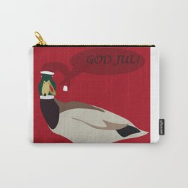 christmas duck Carry-All Pouch