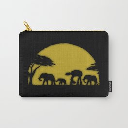 Elephant train Carry-All Pouch
