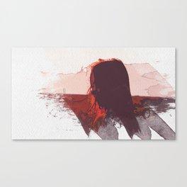 Sunset Girl Canvas Print