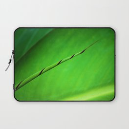 Canna Leaf Spiral Twist Laptop Sleeve