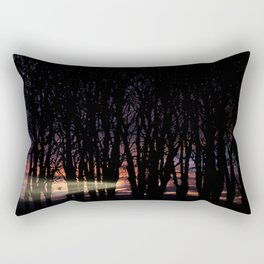 Sunrise in the Trump Forest .2 Rectangular Pillow