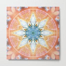 Flower of Life Mandalas 3 Metal Print