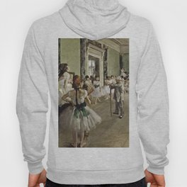 Edgar Degas - The Ballet Class Hoody