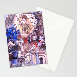 The 100 years War Stationery Cards