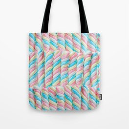 Pastel Candy Sticks Tote Bag