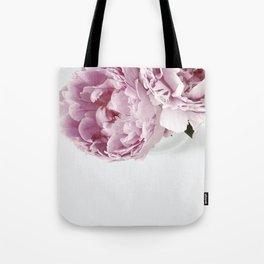 Two Peonies Tote Bag