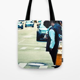 Lost in The Apple Tote Bag
