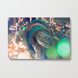 Holiday Sparkle Metal Print