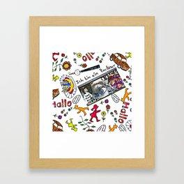 Ich bin Berliner Framed Art Print