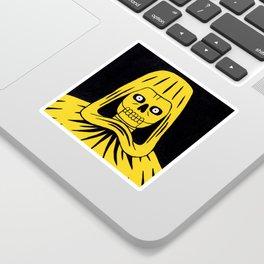 Yellow Death Sticker