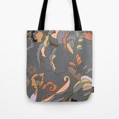 Color Blocking | Floral Shapes Tote Bag