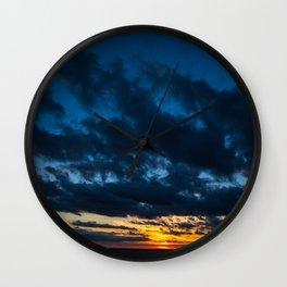 Sky Drama Wall Clock