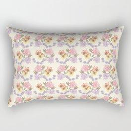 Floral pattern #02 Rectangular Pillow