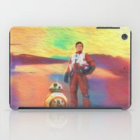 poe iPad Cases featuring Poe Dameron by DisPrints