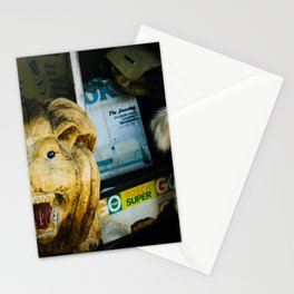 Poodle in Chiang Mai, Thailand Stationery Cards