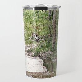 Rustic water crossing Travel Mug