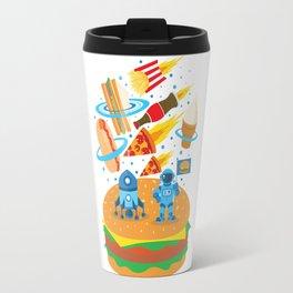 Space Burger Travel Mug