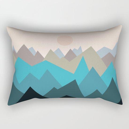 Landscape NC 05 Rectangular Pillow