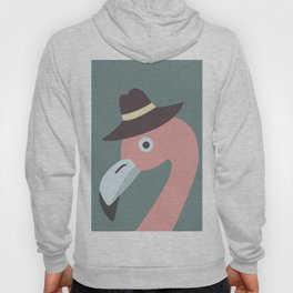 Cute Flamingo Hoody