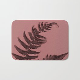 Fern on marsala Bath Mat