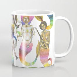 armed mermaids Coffee Mug