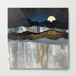 Painted Mountains Metal Print