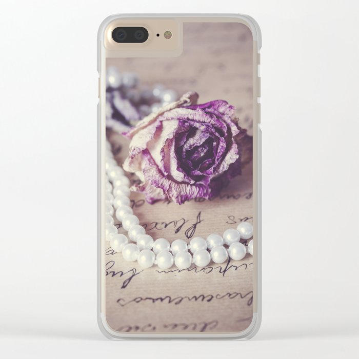 Love Letter II Clear iPhone Case
