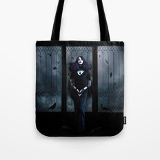 Lady of Crows Tote Bag