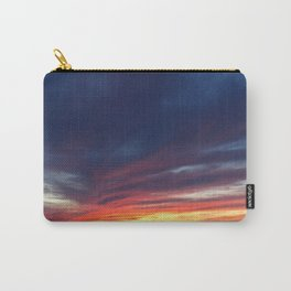 Sunset over the Finger Lakes Carry-All Pouch
