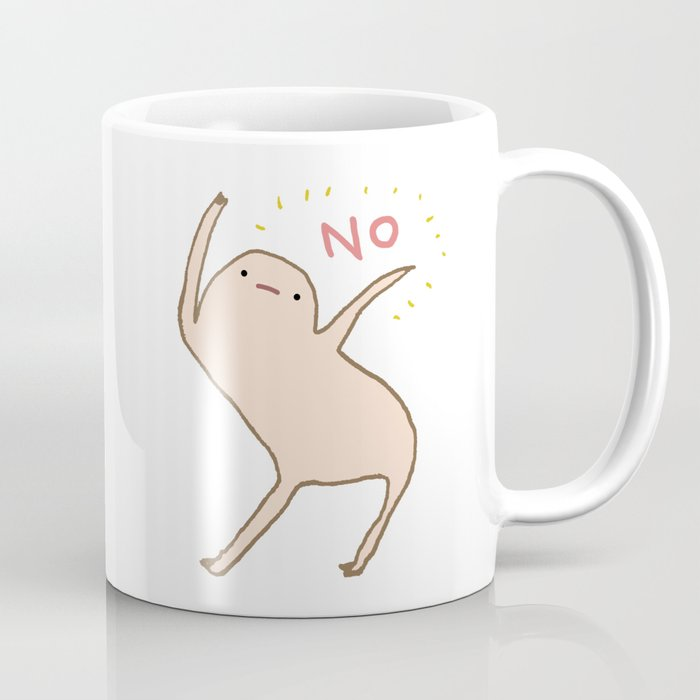 Honest Blob Says No Kaffeebecher