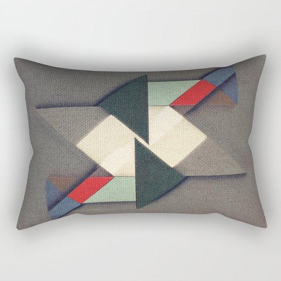 La Réunion Geometrique   Rectangular Pillow
