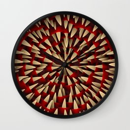 Toothy maw Wall Clock