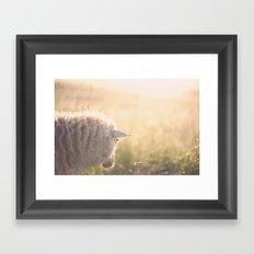 Good morning world Framed Art Print