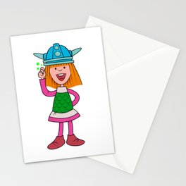 Vicky Viking - TV Cartoons Stationery Cards
