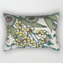 Australian Native Floral Rectangular Pillow