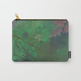 Venice Italy Street Map Green Planet Carry-All Pouch