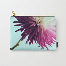Exotic Fuchsia Chrysanthemum Carry-All Pouch